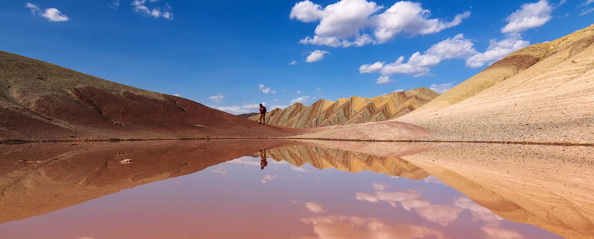 آلاداغ لار ، کوههایی رنگارنگی به شگفتی طبیعت ایران