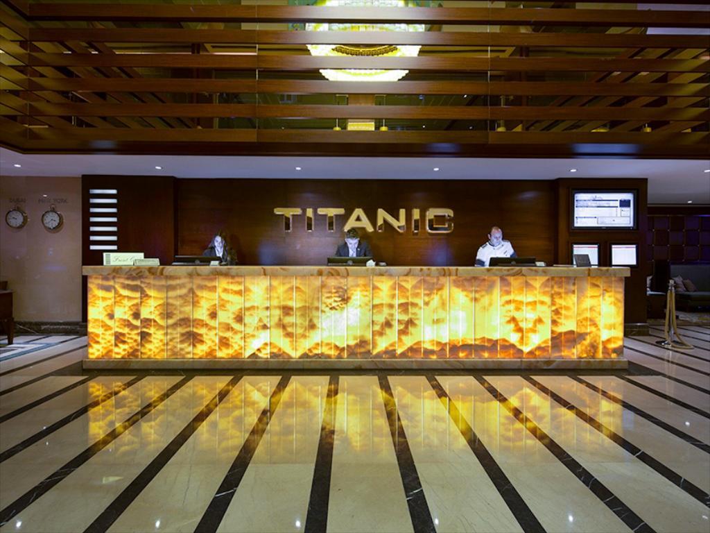هتل تایتانیک سیتی | از معروفترین هتل های استانبول