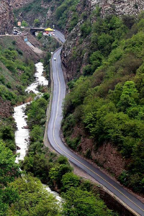 جاده چالوس | از زیباترین جاده های ایران
