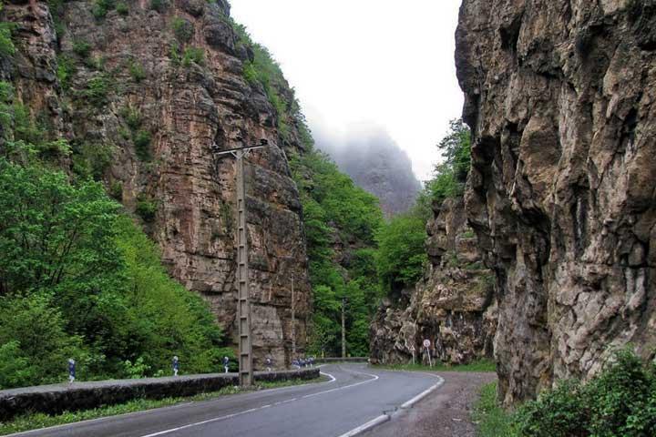 جاده چالوس | از زیباترین جادههای ایران