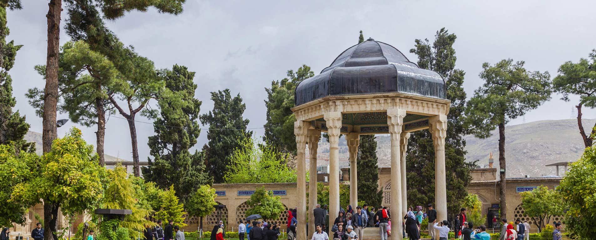 حافظیه ، باغ خیال انگیزی که سخنگوی عشاق را در بر دارد