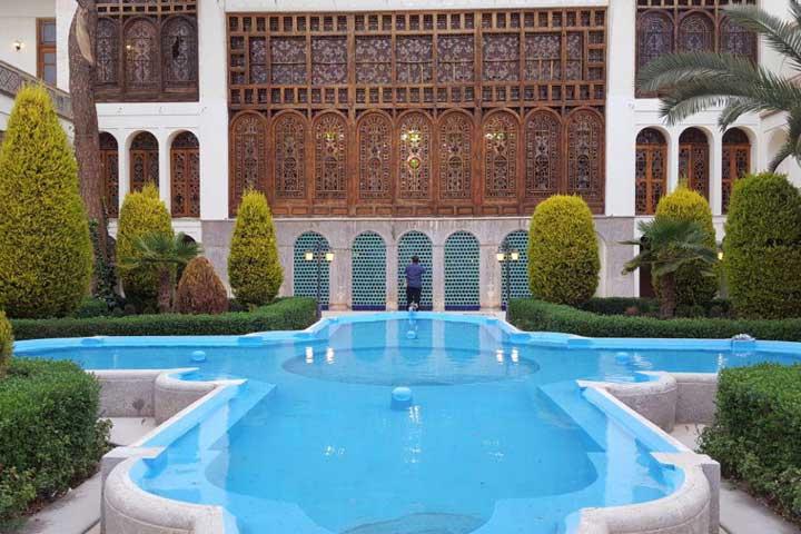 خانهی مشیرالملک انصاری | عمارتی اشرافی در خانه های تاریخی اصفهان