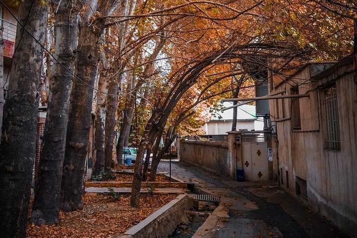 درکه تهران | ییلاقی تاریخی