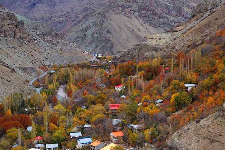 روستای پل خواب | جاده چالوس