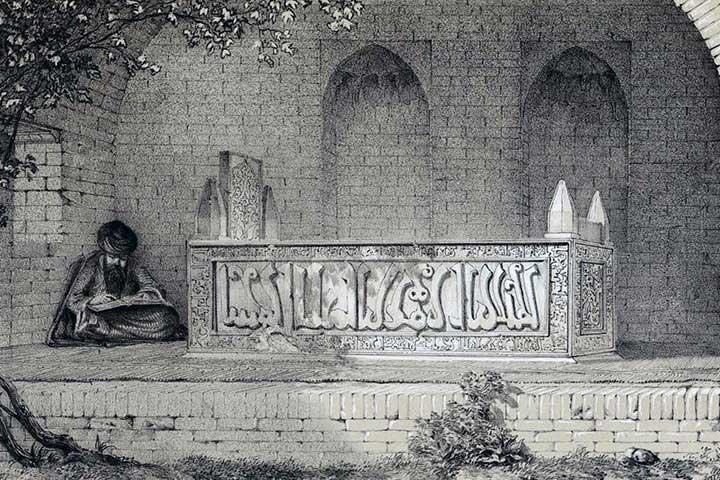 زندیه و آرامگاه سعدی