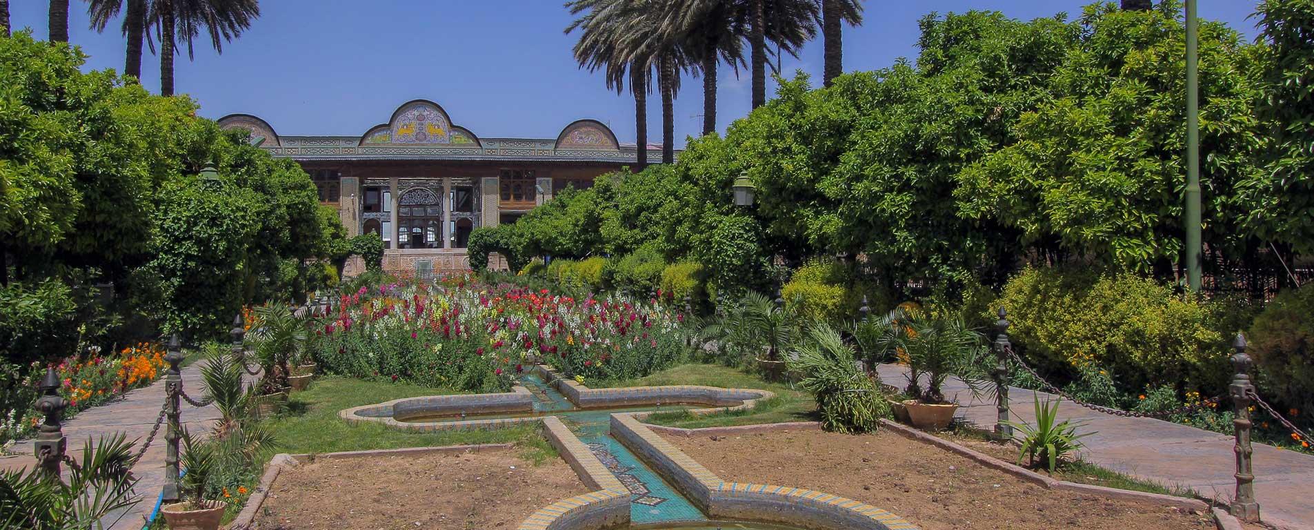باغ نارنجستان قوام ، بوی خوش نارنجها در آغوش معماری قجری