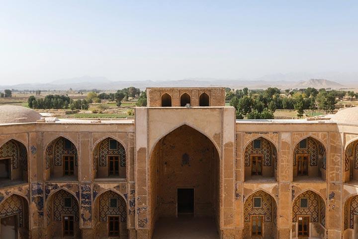 مدرسه غیاثیه، شاهکاری از عهد تیموری