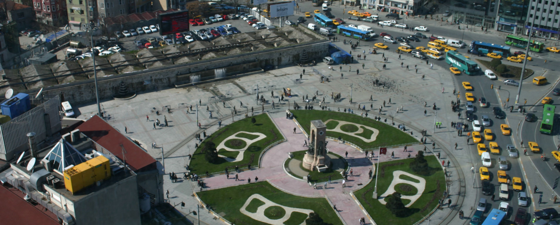 میدان تقسیم استانبول ؛ قلب تپنده ترکیه مدرن