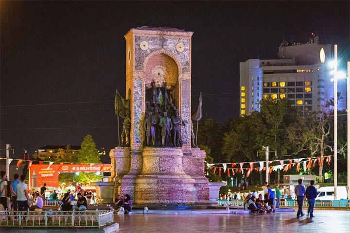 میدان تقسیم