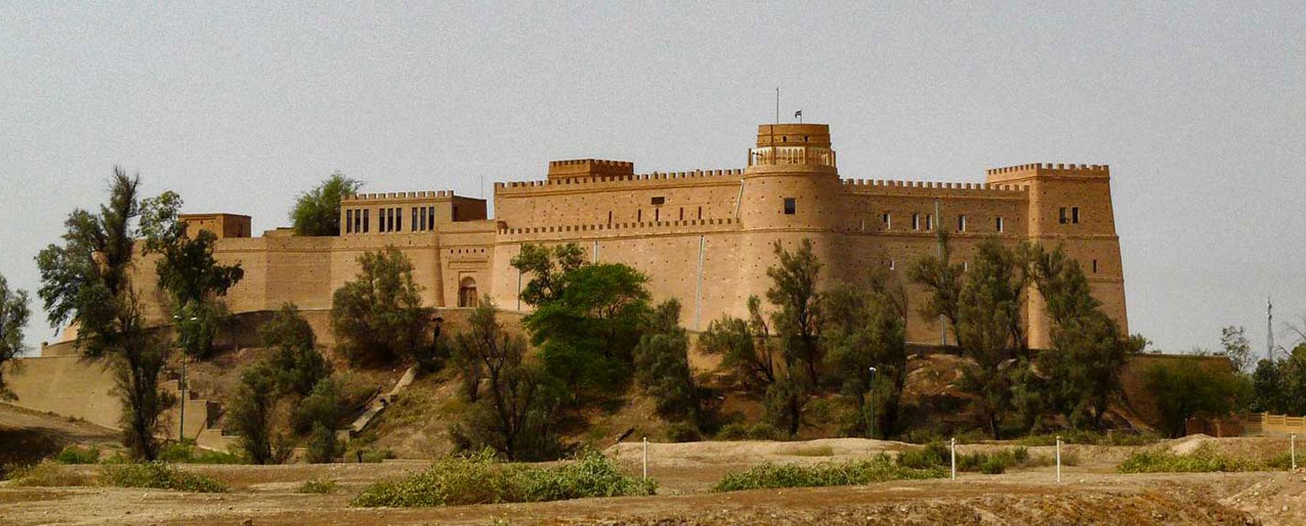 قلعه شوش ، تلفیق تاریخ و معماری دو ملت