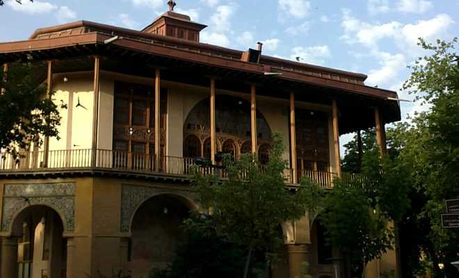 باغ صفوی قزوین