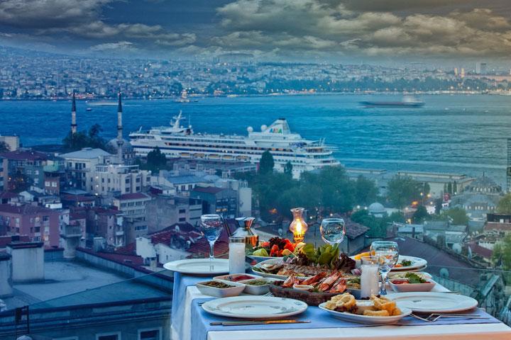 رستوران های استانبول | رستوران Eleos