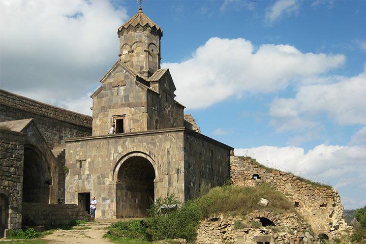 صومعه تاتو |کلیسای مریم مقدس