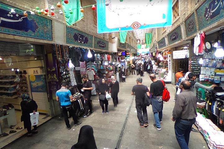 بازار تجریش تهران ؛ حال و هوای عید در محبوبترین بازار شمال تهران