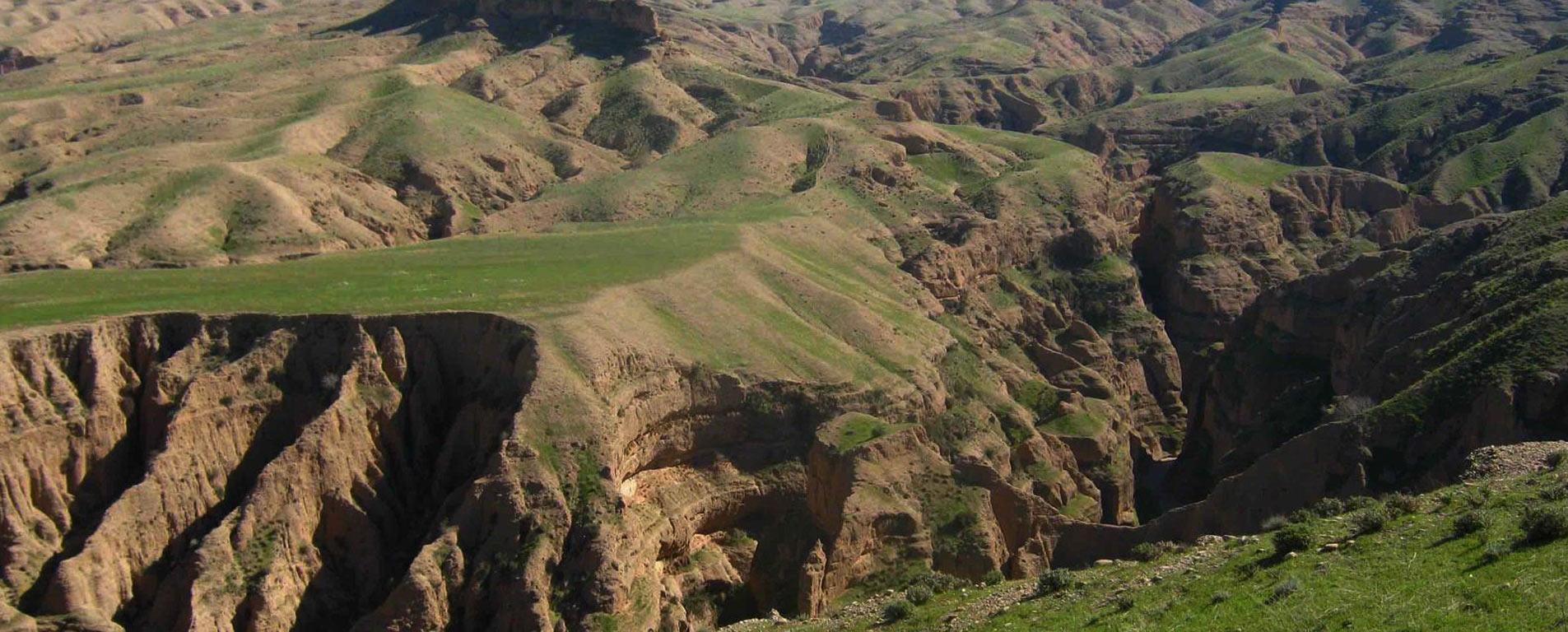 دره توبیرون دزفول ، حاصل هزاران سال فرسایش آبی