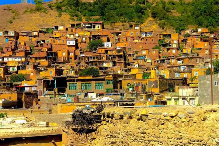 روستای خرو از زیباترین روستاهای ایران