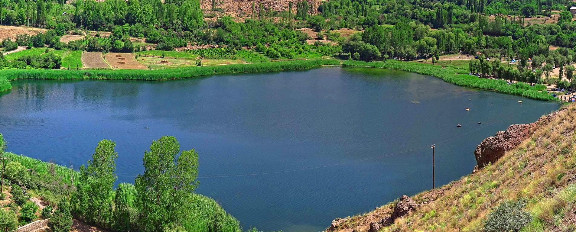 دریاچه اوان ، طبیعتی رویایی در دل الموت