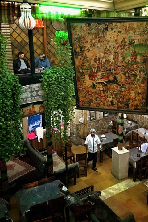 رستوران باغچه تجریش