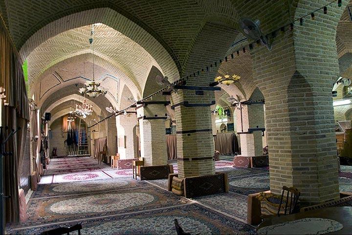مسجد عماد الدوله کرمانشاه - عکس از فرزاد منتی