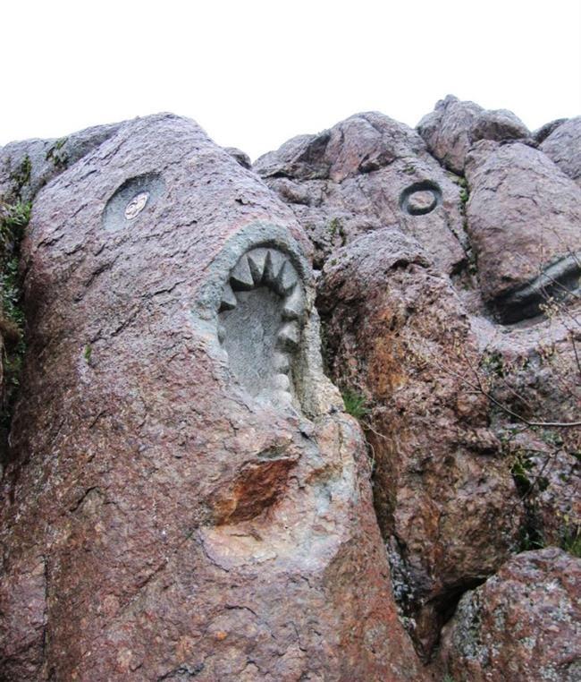 مجسمهها و تندیسهای زیبای سنگی پارک جمشیدیه