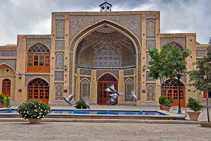 مسجد عماد الدوله کرمانشاه - عکس از Instagram.com/ Khayyamstreet