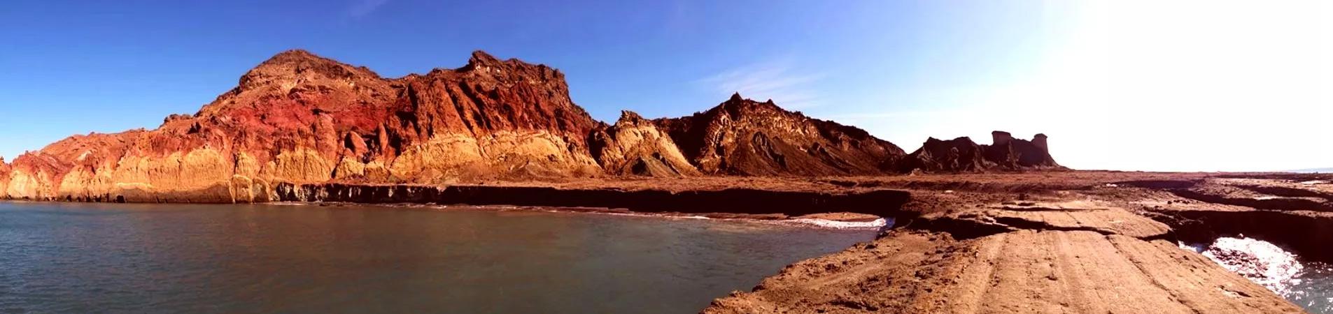 راهنمای سفر به هرمز ، جزیره رنگ و نور
