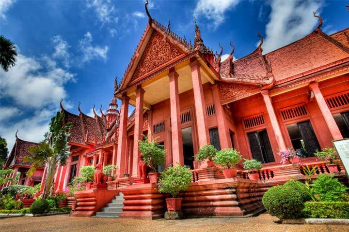موه ملی کامبوج از بهترین جاهای دیدنی کامبوج