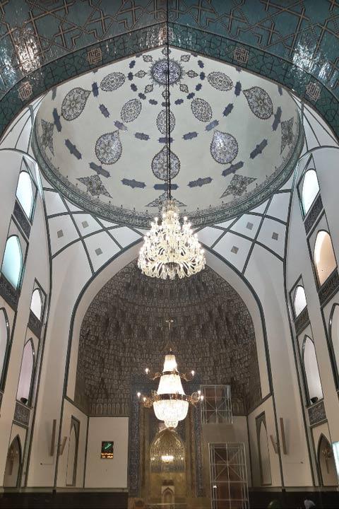ایوان مقصوره | ایوان اصلی مسجد گوهرشاد