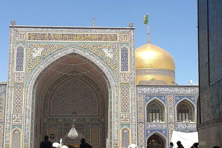 ایوان ساده | مسجد گوهرشاد