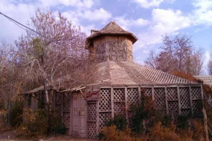 روستا دهکده چوبی نیشابور | از زیباترین روستاهای ایران