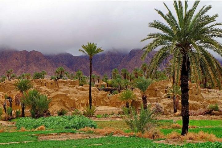 روستای اصفهک مکان های دیدنی طبس