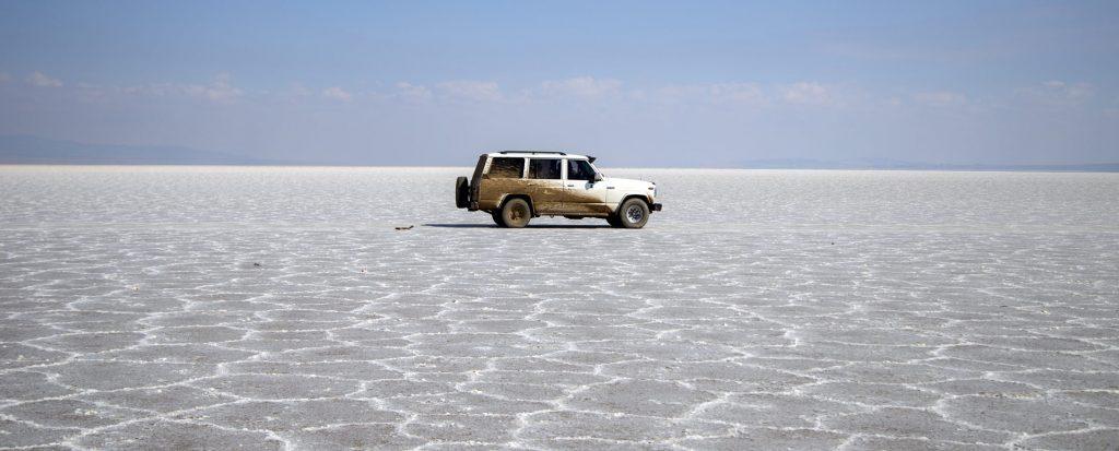 دریاچه نمک آران و بیدگل ، زیبایِ مُلک مرنجاب