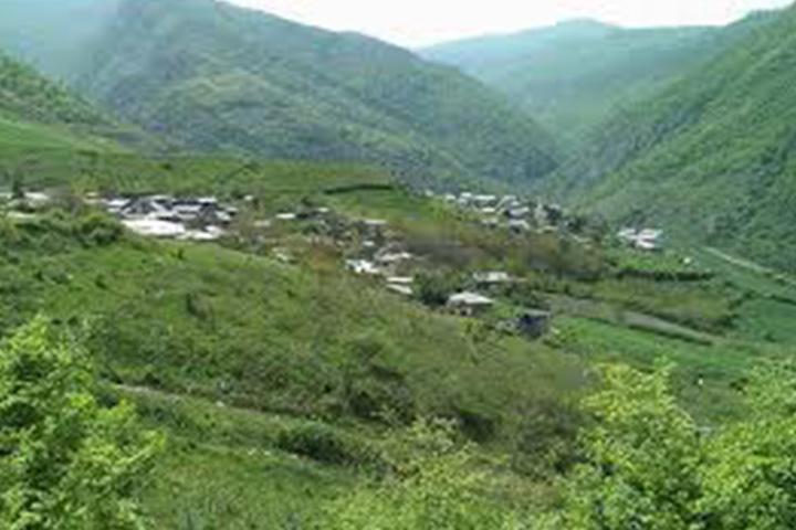 روستای شیرین آباد | جنگل ابر