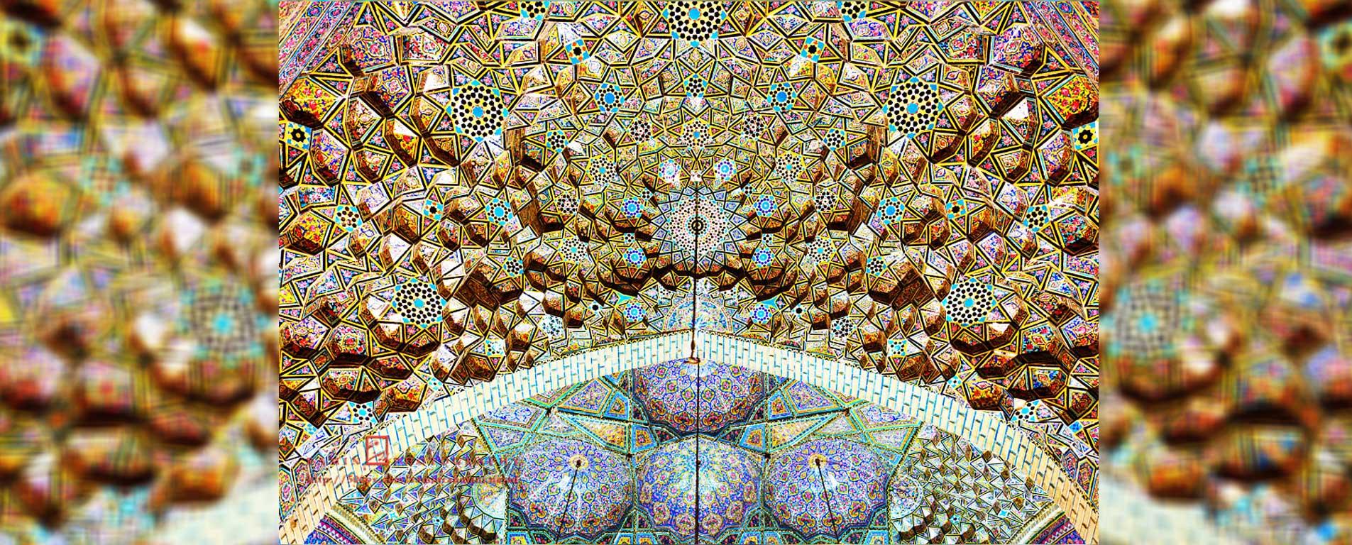 عکس های مسجد نصیرالملک ، خیال در مسجدی صورتی