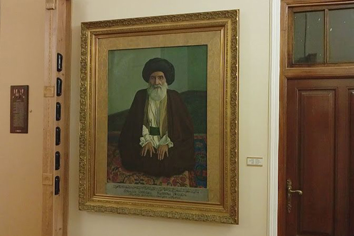 موزه مکتب کمال الملک | باغ نگارستان