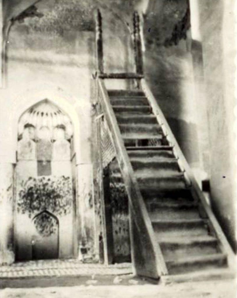 منبر مسجد جامع شوشتر
