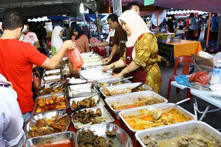 افطار در کوالالامپور