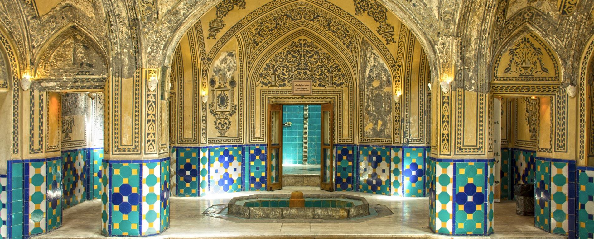 حمام سلطان امیر احمد ؛ بیهمتا در معماری و تزئینات
