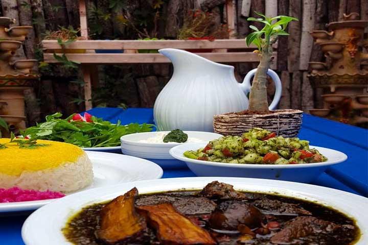 رستوران محلی میرزا
