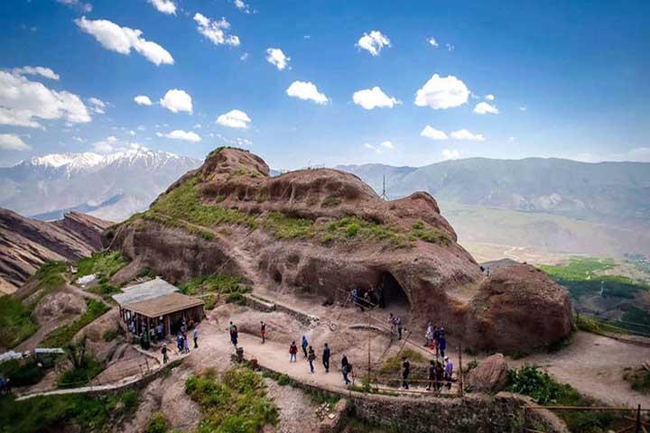 قلعه الموت ، مقر حسن صباح