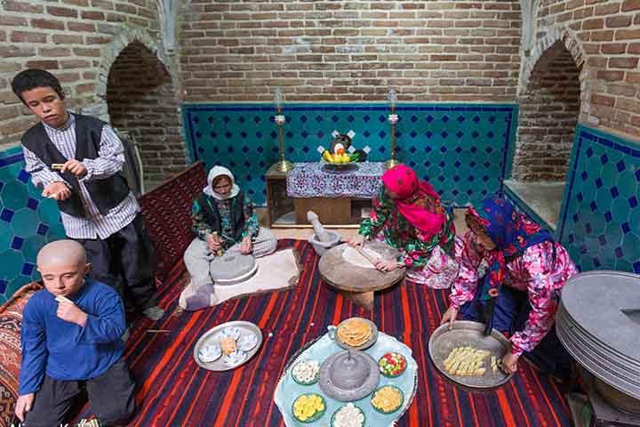 موزه مردم شناسی قزوین