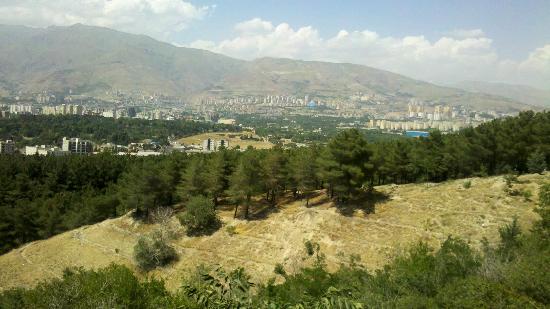 پارک جنگلی لویزان تهران ؛ طبیعت زیبا در همین نزدیکی