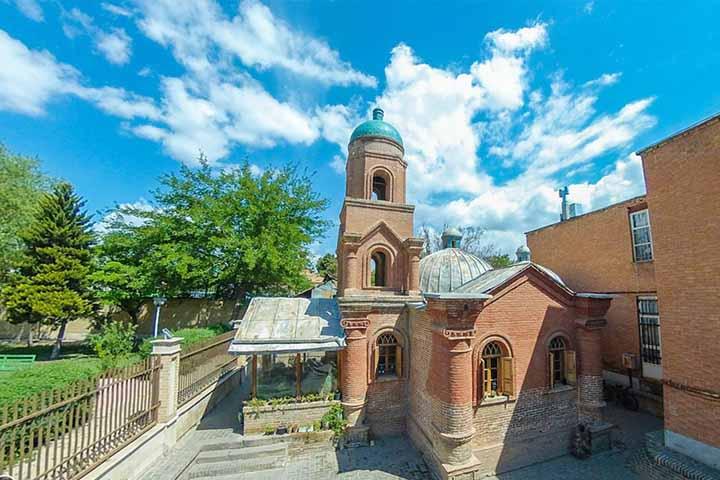 کلیسای کانتور ، یادگار روسها در قزوین