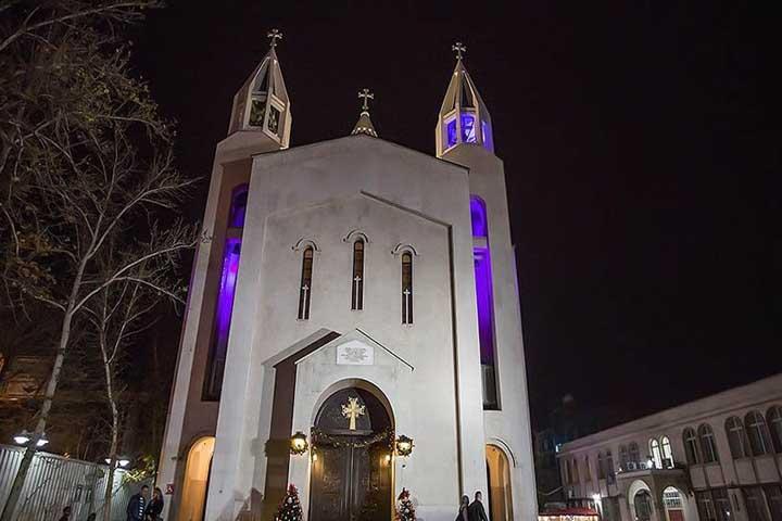کلیسای سنت سرکیس | مکان های مذهبی تهران