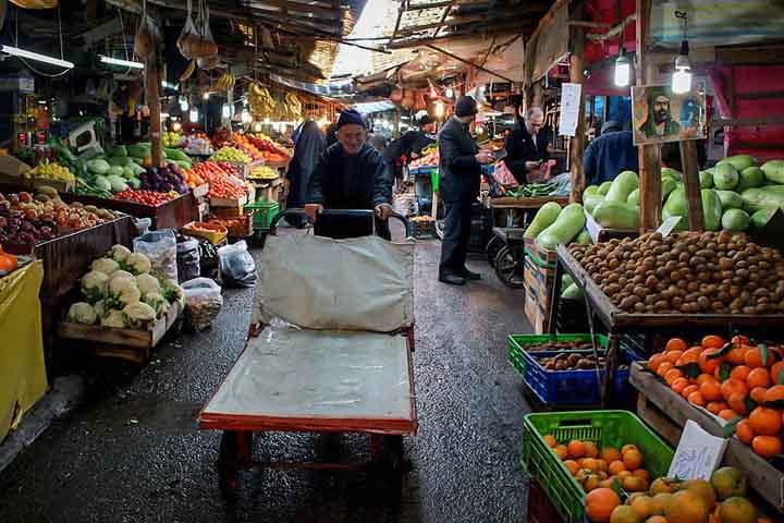 بازار روز آمل