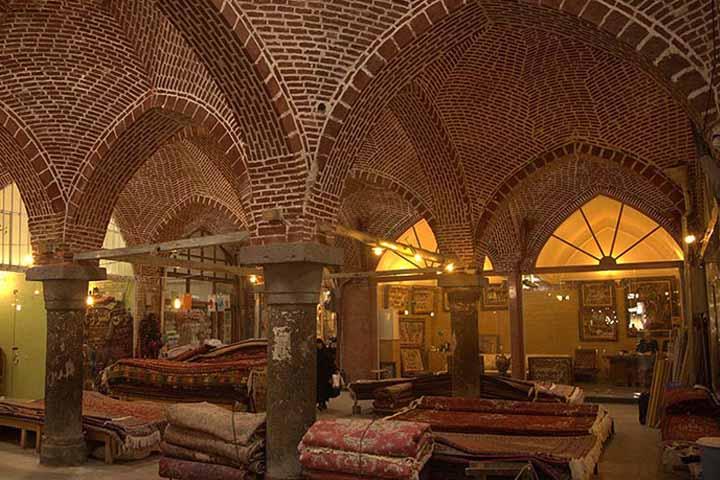 بازار قدیمی اردبیل | مراکز خرید اردبیل