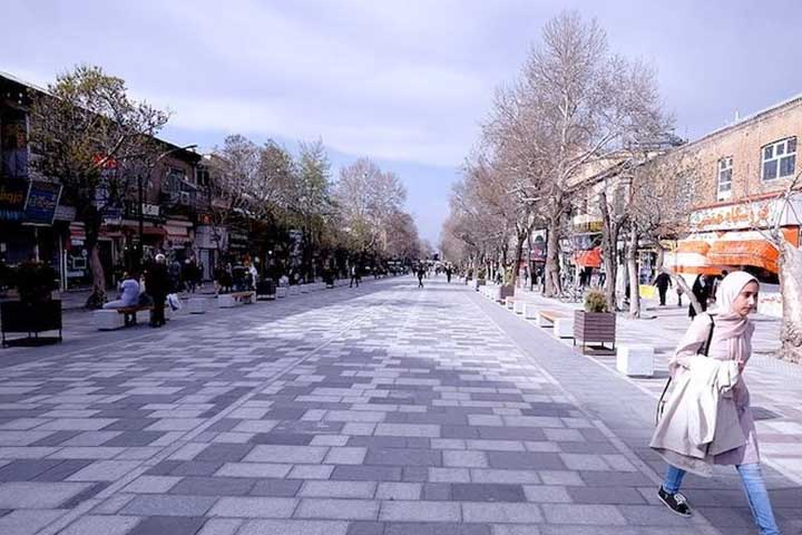 خیابان سبزه میدان