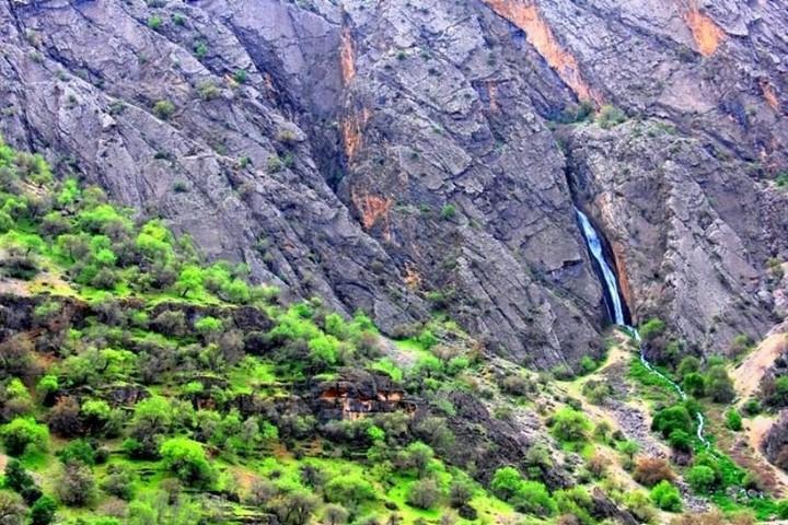 دره عشق - آبشار