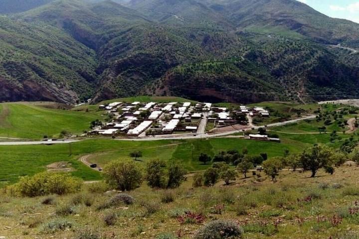 دره عشق - روستاها