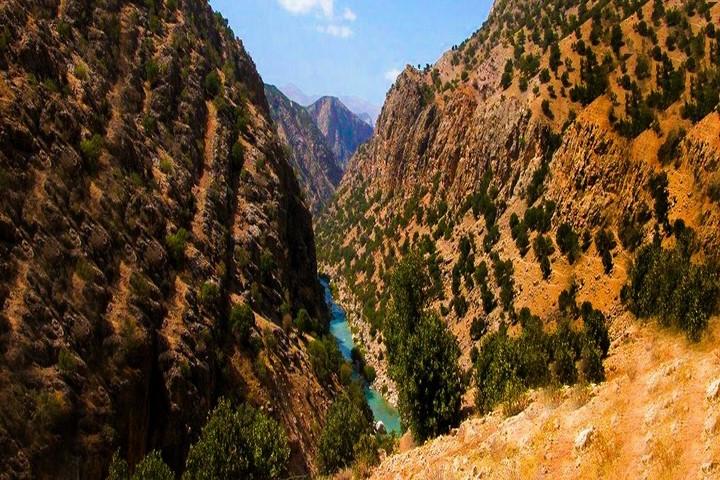 دره عشق - آبشار اصلی